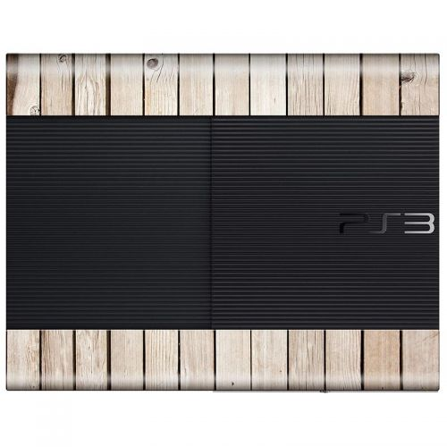 Wood Panel - PS3 Super Slim Console Skin