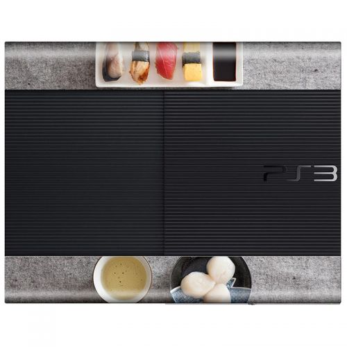 Sushi - PS3 Super Slim Console Skin