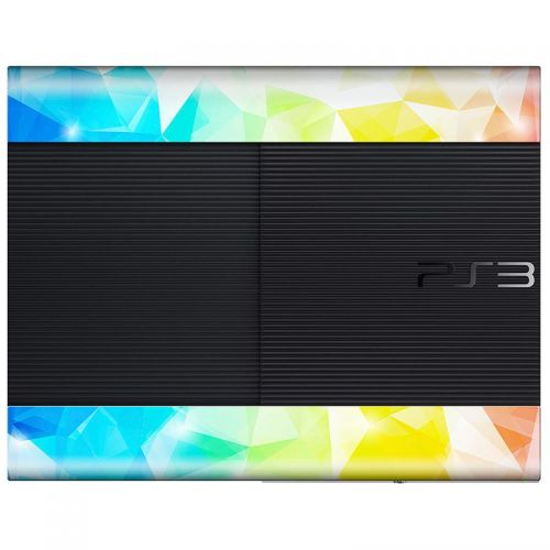 Polygonal Abstract - PS3 Super Slim Console Skin