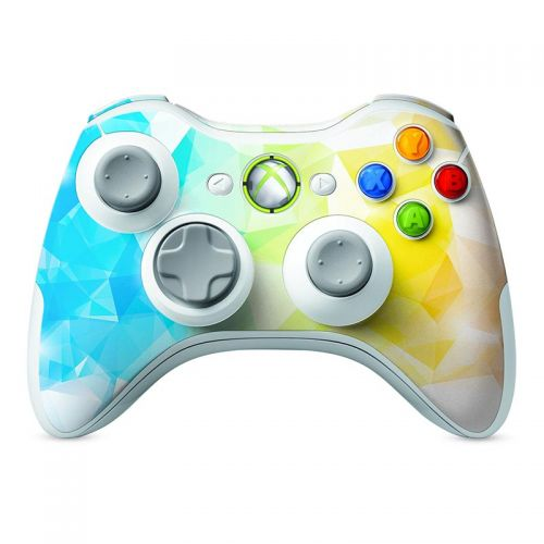Polygonal Abstract -  Xbox 360 Controller Skin