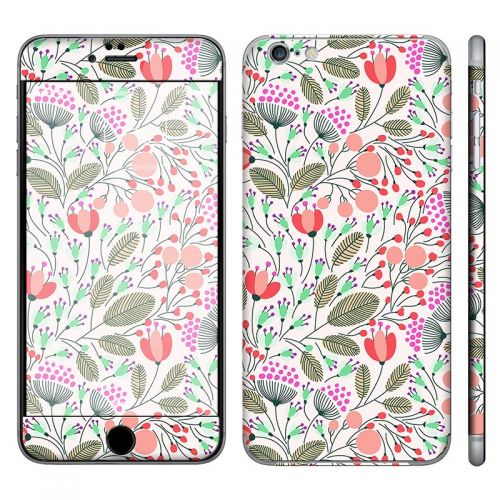 Floral Pattern - iPhone 6 Plus Phone Skin