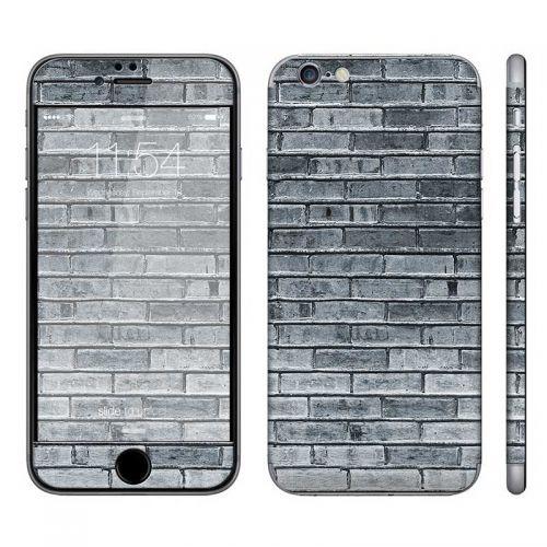 Gray Brick Wall - iPhone 6 Phone Skin