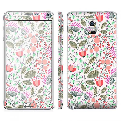 Floral Pattern - Galaxy Note 4 Phone Skin