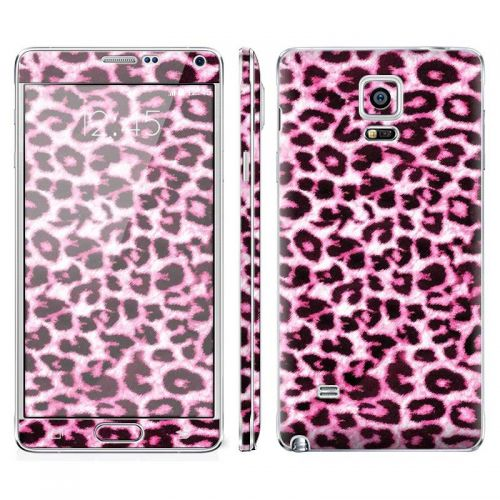 Pink Leopard - Galaxy Note 4 Phone Skin