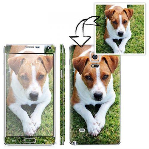 Galaxy Note 4 自定圖案手機貼