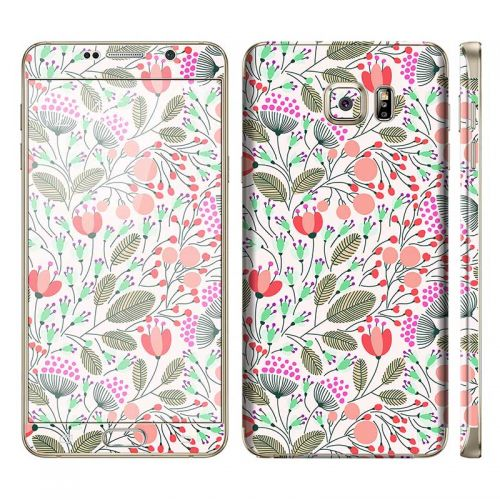 Floral Pattern - Galaxy Note 5 Phone Skin