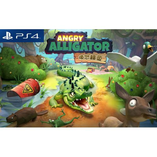 【PS4】ANGRY ALLIGATOR