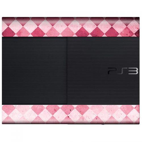 Pink Floor - PS3 Super Slim Console Skin