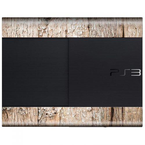 Wood - PS3 Super Slim Console Skin