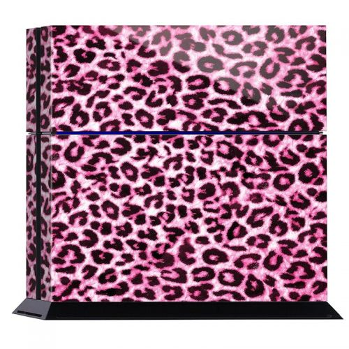 Pink Leopard - PS4 Console Skin