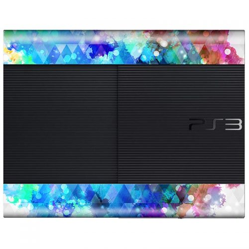 Crazy Canvas -  PS3 Super Slim Console Skin