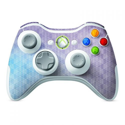 Cold Abstract -  Xbox 360 Controller Skin