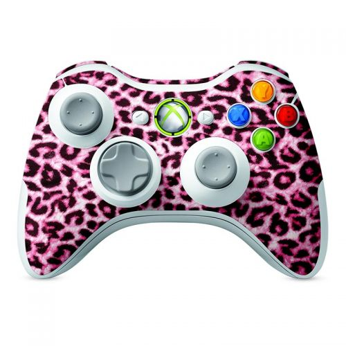 Pink Leopard -  Xbox 360 Controller Skin