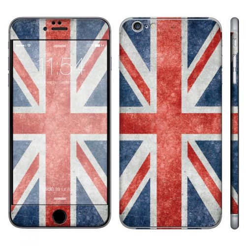Distressed Great Britian Flag - iPhone 6 Plus Phone Skin
