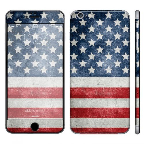 Distressed American Flag - iPhone 6 Plus Phone Skin