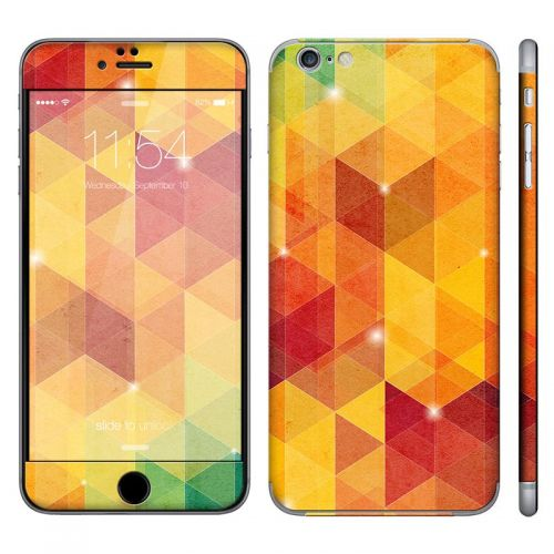 Abstract Tri-Pattern - iPhone 6 Plus Phone Skin