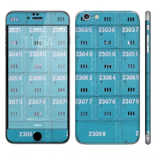 Blue Mail Box - iPhone 6 Plus Phone Skin