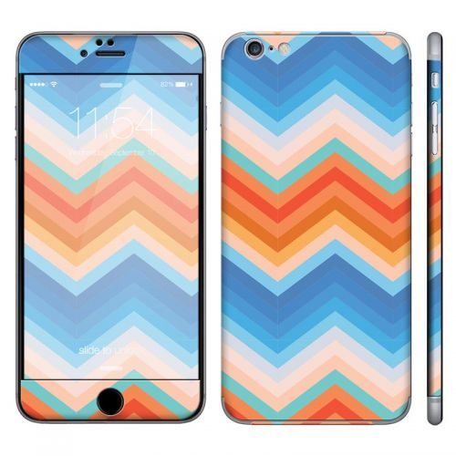 Trendy Chevron Zigzag - iPhone 6 Plus Phone Skin