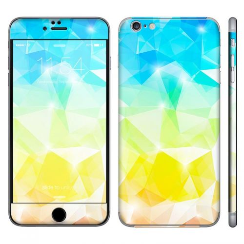 Polygonal Abstract - iPhone 6 Plus Phone Skin