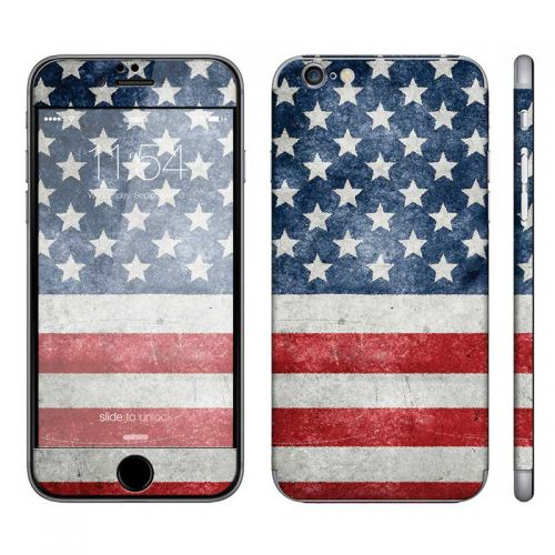 Distressed American Flag - iPhone 6 Phone Skin