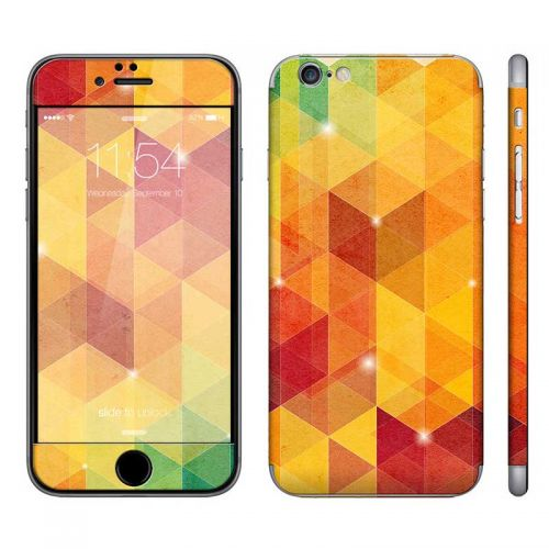 Abstract Tri-Pattern - iPhone 6 Phone Skin