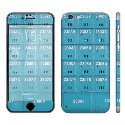Blue Mail Box - iPhone 6 Phone Skin
