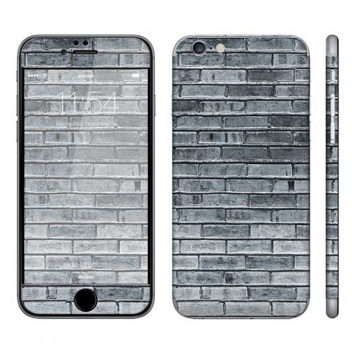 Gray Brick Wall - iPhone 6 Phone Skin
