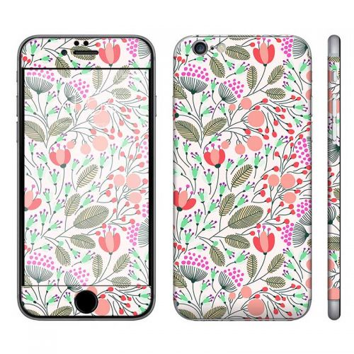 Floral Pattern - iPhone 6 Phone Skin