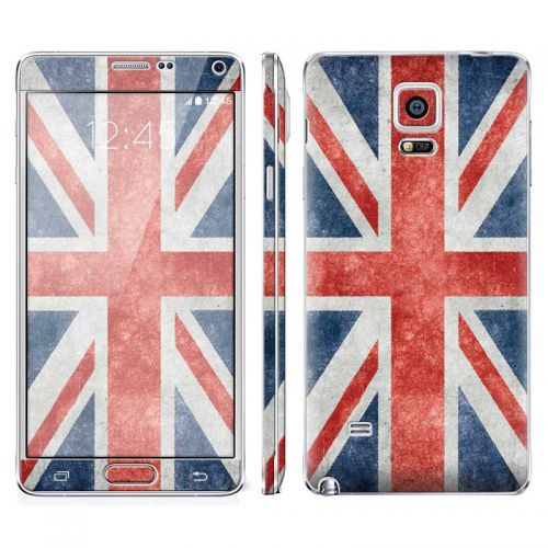 Distressed Great Britian Flag - Galaxy Note 4 Phone Skin