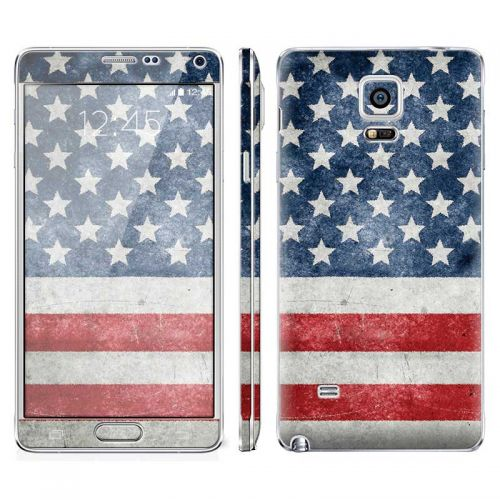 Distressed American Flag - Galaxy Note 4 Phone Skin