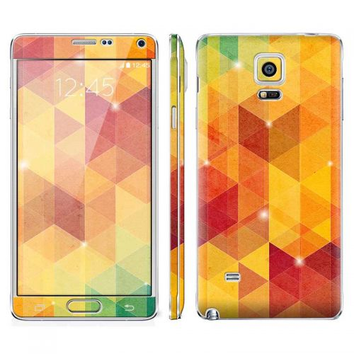 Abstract Tri-Pattern - Galaxy Note 4 Phone Skin