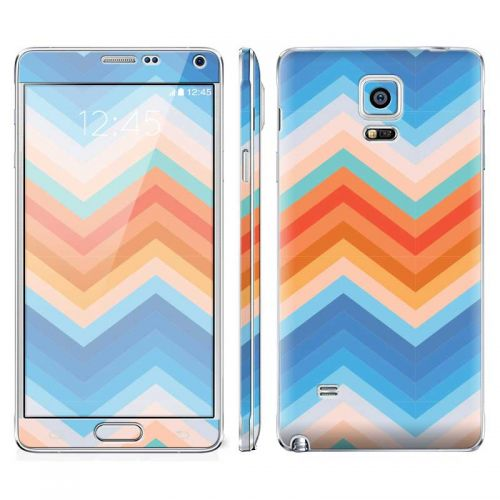 Trendy Chevron Zigzag - Galaxy Note 4 Phone Skin