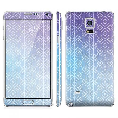 Cold Abstract - Galaxy Note 4 Phone Skin