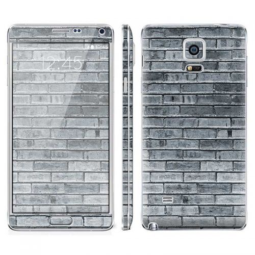 Gray Brick Wall - Galaxy Note 4 Phone Skin