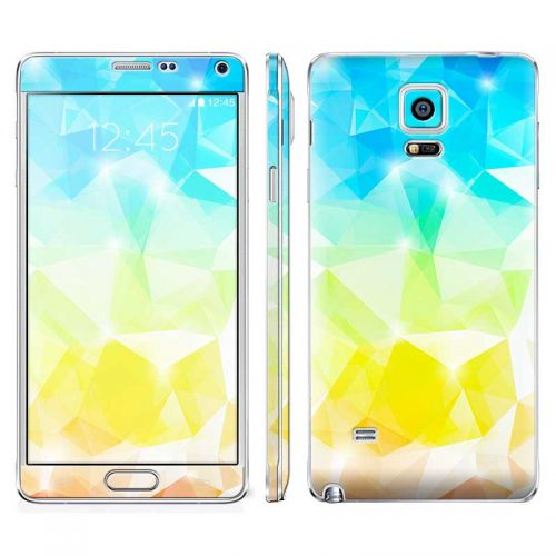 Polygonal Abstract - Galaxy Note 4 Phone Skin