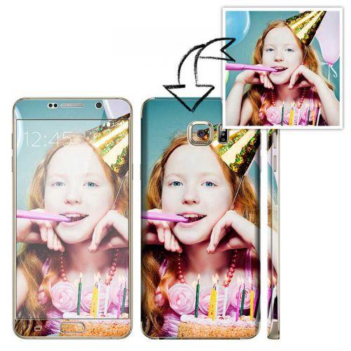 Galaxy Note 5 自定圖案手機貼