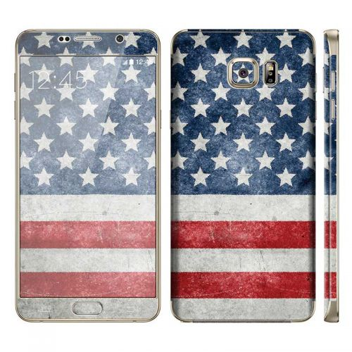Distressed American Flag - Galaxy Note 5 Phone Skin