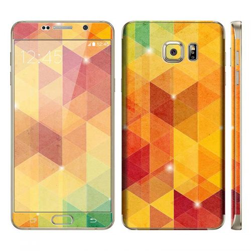 Abstract Tri-Pattern - Galaxy Note 5 Phone Skin