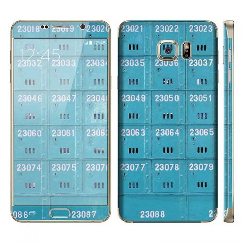 Blue Mail Box - Galaxy Note 5 Phone Skin