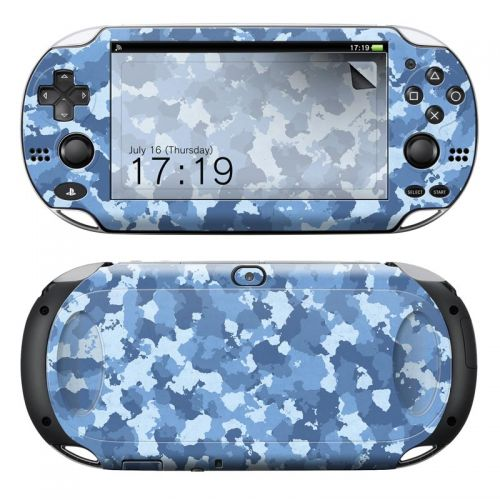 Blue Camouflage