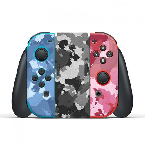Red/Blue Camouflage