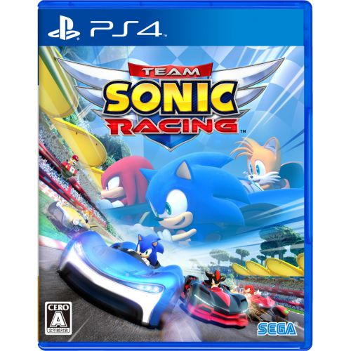 (Sold Out) 【PS4】Team Sonic Racing (Chinese)