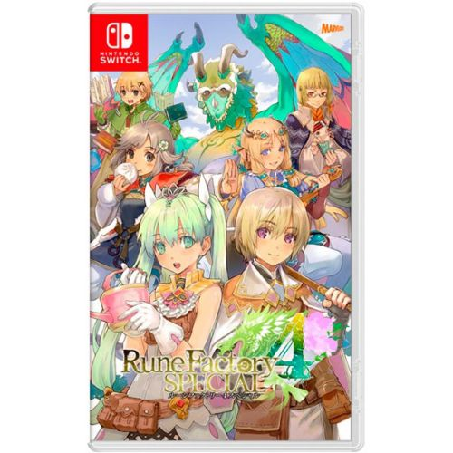 (Sold Out) 【Switch】Rune Factory 4 SP (Chinese)