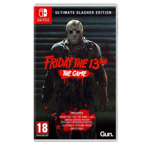 (Sold Out) 【Switch】Friday the 13th [The Game Ultimate Slasher Edition]
