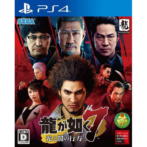 (Sold Out)【PS4】Yakuza : Like a Dragon